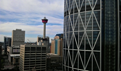 Calgary Tower aka Sled Island Artists' Lounge