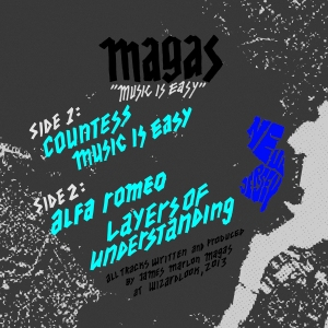 MAGAS - Music Is Easy 12""